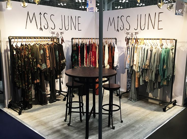 Fashion Exhibition Booth : Spb concept booth design coterie nyc miss june
