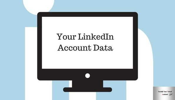 Have You Requested Your Linkedin Account Data Lately Infographic Included Linkedin Profiles And All Things Linkedin Resume Writing Services Writing Services Linkedin Profile