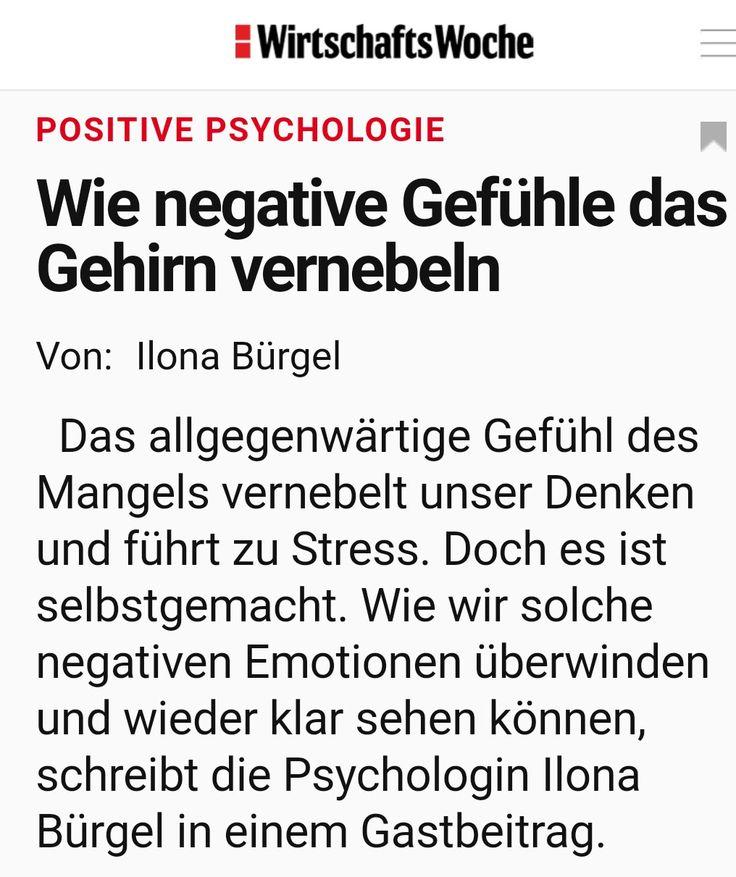 Wie negative Gefühle das Gehirn vernebeln