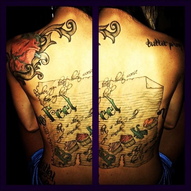 Maci Bookout's Back Tattoo: Up Close. I love thisss!