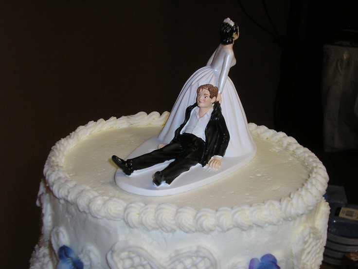 funny wedding cakes images wedding cake topper wedding ideas 14580