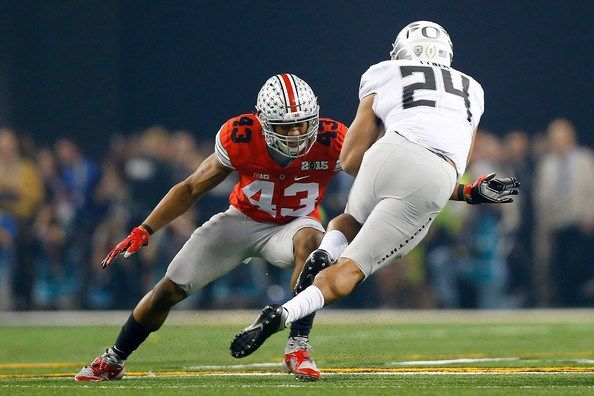 Jets select LB Darron Lee out of Ohio State University with the 20th Pick