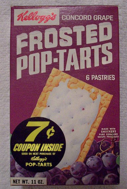 Grape pop tarts were the best! Why did they stop making them?