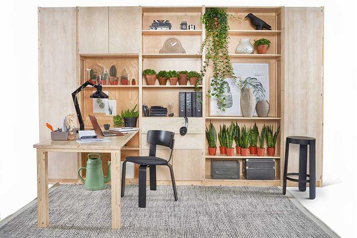 Styling voor Lundia Original werkplek | Op maat gemaakt | urban green | xala lungo | mydeernl