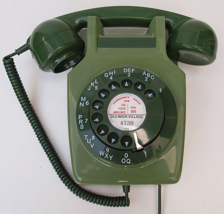 Two tone Green GPO 741