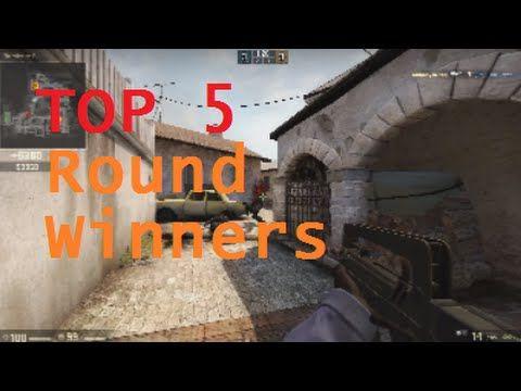 Top 5 Round Winner Plays #CS:GO