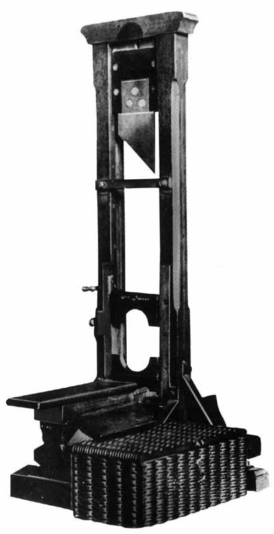"Today's #eponym ""Guillotine"" named after French physician Joseph-Ignace Guillotin. Dr. Guilloton was not the device's inventor but a capital punishment reformer whose recommendations were implemented along with this method of execution. The guillotine was the sole method of execution in France until capital punishment was abolished in 1981."