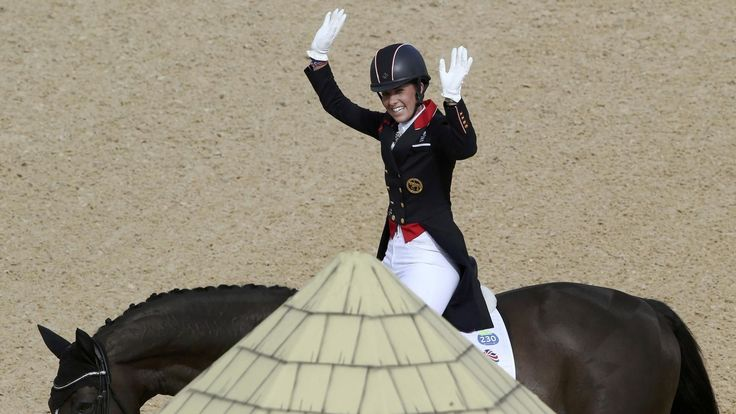 Dujardin retains individual dressage title for Great Britain with incredible display