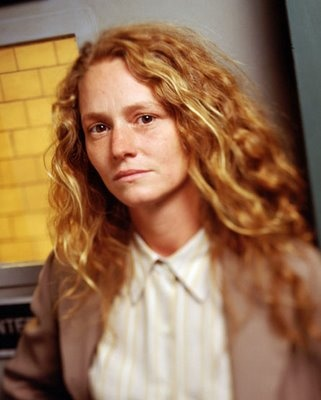 "Melissa Leo as Kay Howard on ""Homicide."" The attitude, the Bawlmer accent, the hair."