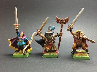 La memoria de los sábados                       : [Galería] Warhammer Quest 1ª Edicion