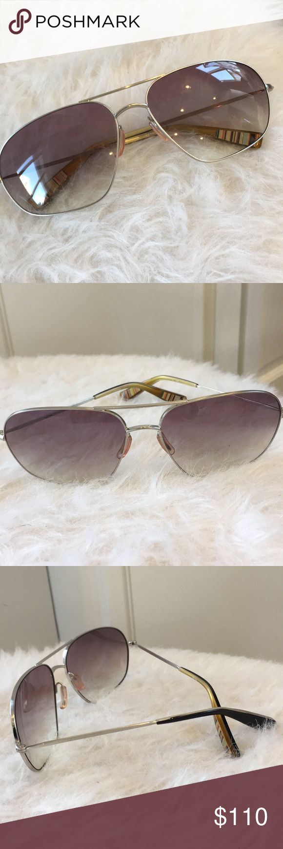 Paul Smith sunglasses Beautiful unisex Paul Smith aviator sunglasses. Barely worn. No scratches or wear. No case included. Paul Smith Accessories Glasses