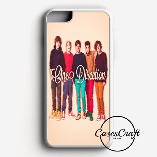 1D One Direction Logo Pink Flower iPhone 7 Plus Case | casescraft