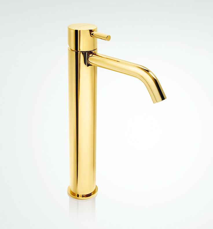 96812-H Svedbergs  Svedbergs Pipe servantkran Frittstående, Gull