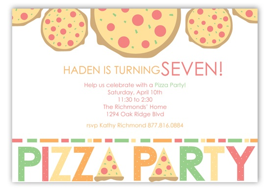 17 best pizza party images on pinterest   pizza party, party, Party invitations