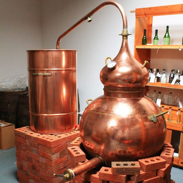 Tamara - our copper still