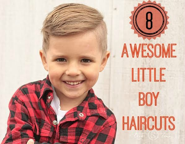 My little guy was in need of a new haircut. Little boy haircuts are not nearly as fun as little girl haircuts...or so I thought. My sister is getting married in a few weeks and Chaucer is a ring-be...