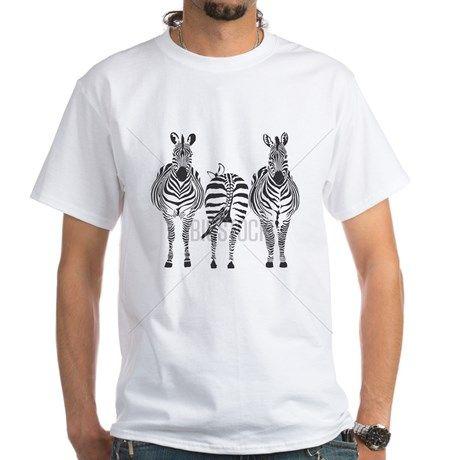 Zebras Shirt on CafePress.com