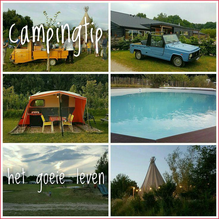Camping tip Het Goeie Leven sfeervol met zwembad in #Nederland #Brabant #leukmetkids #idyllisch #kamperen