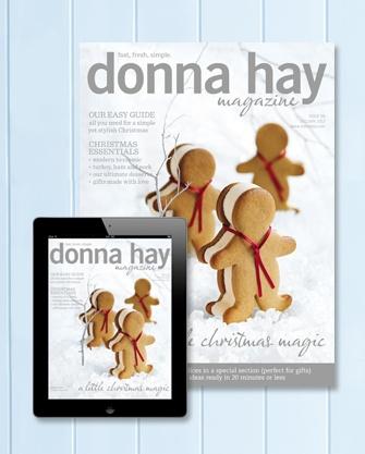 donna hay magazine celebrate issue, 2012/2013