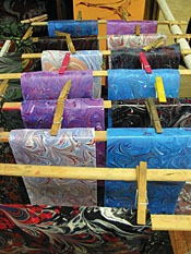 John Campbell Folk Art School--Marbling