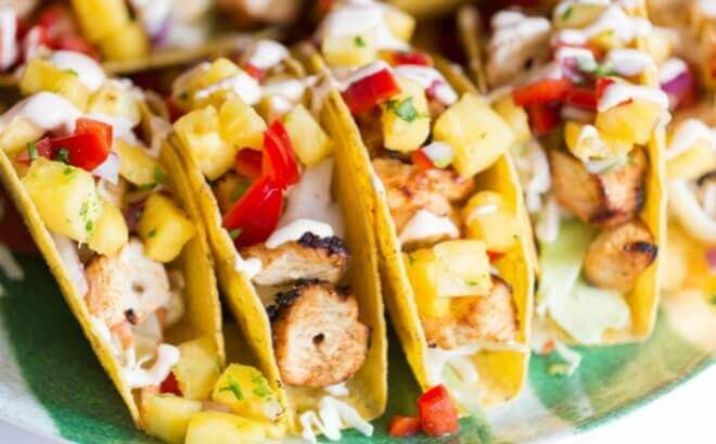 Shrimpand Chicken Tacos are crowd pleasers whether you're tailgating or staying onhome turf. It'stailgating season—are you ready to party?! I have a super-delicious recipe thatwe all love and it's an easy fix for football Saturdays. Besides liking theraves I get from our friends, I like fixing Shrimp and Chicken Tacos because they're a nice diversion from the beef we often have. Thanks for making thosekudos possible, Old El Paso, and thanks for sponsoring this post! I grewup in the...