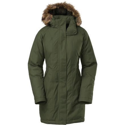 The North Face Arctic Down Parka - Women'sForest Night Green