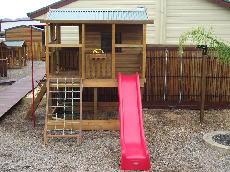 15 Best Timber Cubby Houses Images On Pinterest Cubby Houses
