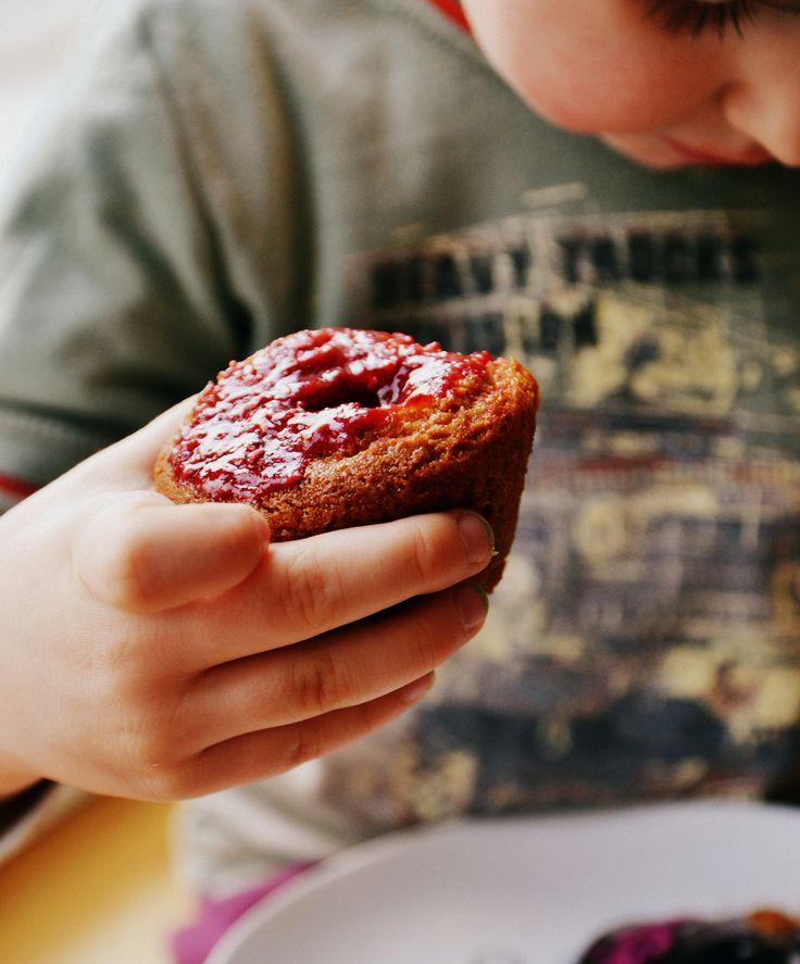 Muffiny z owocami (bez glutenu, jajek, mleka, wegańskie) - Dieta Eliminacyjna