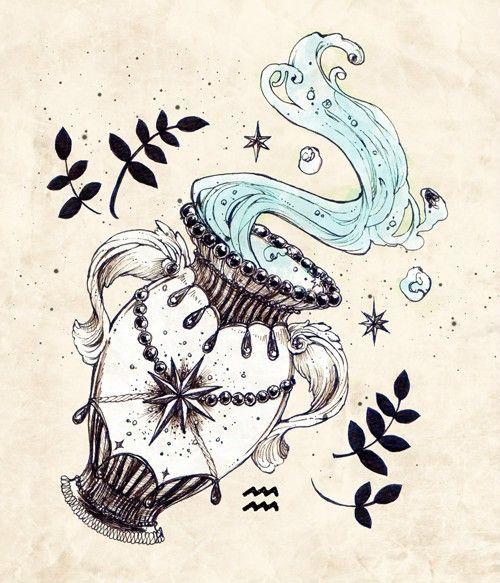 about Aquarius Tattoo on Pinterest | Sagittarius Tattoos Tattoos ...
