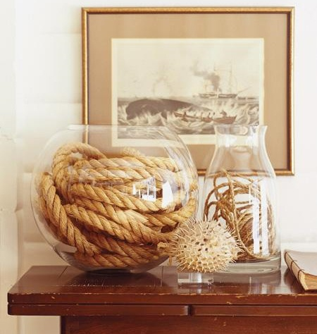 rope for the ultra nautical look