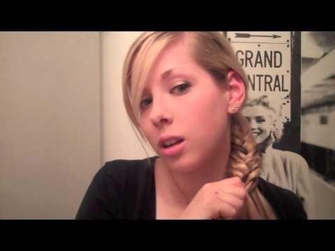 Hair How To: Fish Tail Braid