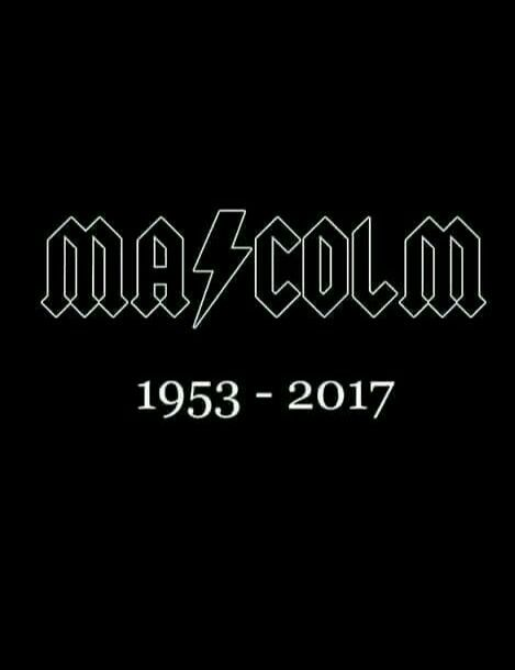 Rest has n Peace, Malcolm..