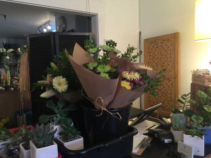Fresh Flowers Hand tied bouquets.  fresh flower weekends, fresh flower friday We're your eastvanflower shop. Shoplocal, Shop at fullbloomflowers. #artisanboutique #love