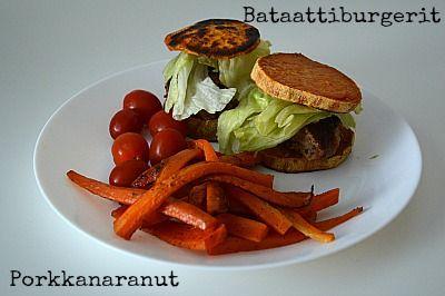 Se, että valitsetko Mäkkärin rasvaranskalaiset vai vähäkaloriset bataatti tai porkkana ranskalaiset on ihan sinun oma valinta. Pelkästään värin ja maunkin takia liputan kovaa bataatin ja porkkanan puolesta,
