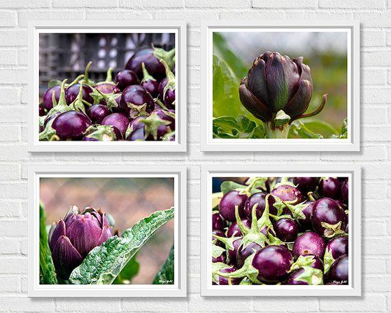Purple kitchen decor nature photography prints 5x7 by hayagold, $16.00