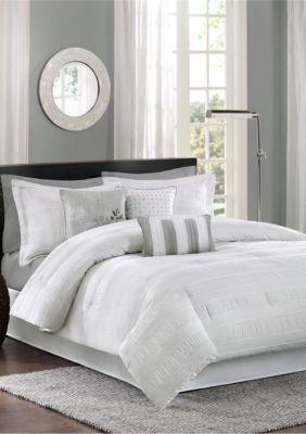 Madison Park Hampton Comforter Set White Comforter Sets Bed Comforter Sets Farmhouse Bedding Sets
