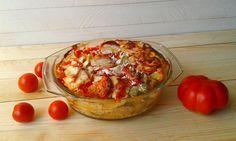 Swojska kuchnia: Zapiekanka schabowo - warzywna