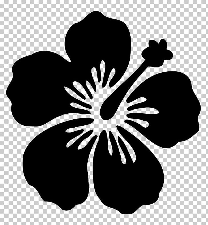 Silhouette Hawaiian Hibiscus Flower Png Animals Black And White Drawing Flora Floral De Hawaiian Flower Drawing Hibiscus Flower Drawing Flower Silhouette