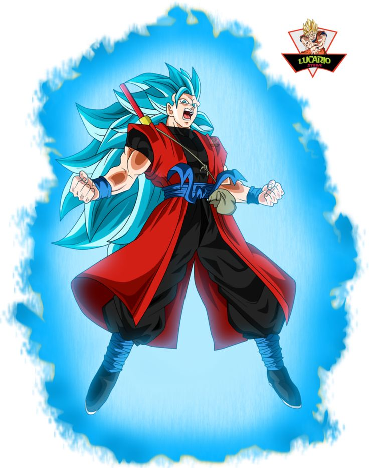 Goku Xeno Ssj3 Blue by lucario-strike on DeviantArt