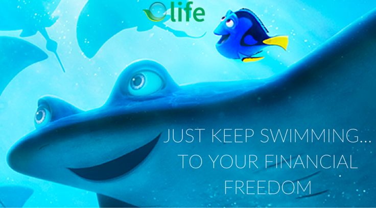 Finding Dory comes out TODAY!!! We are so excited! Dory's positive attitude to keep swimming inspires us all to reach our goals! Call us at (888) 858-8734 and begin your journey to financial freedom!