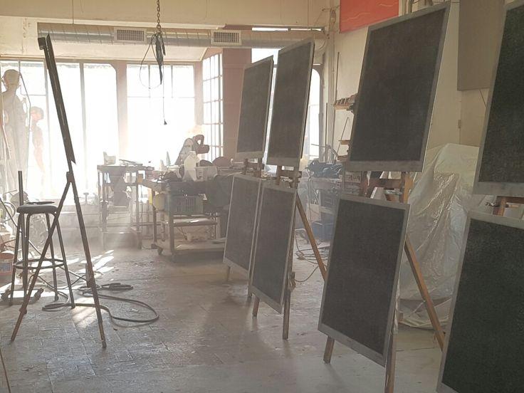 Stefan Blom art studio Cape Town
