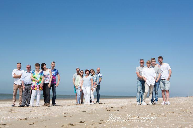 familie fotoshoot strand van rockanje