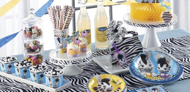 Decorazioni Zou la zebra™ per compleanni con VegaooParty