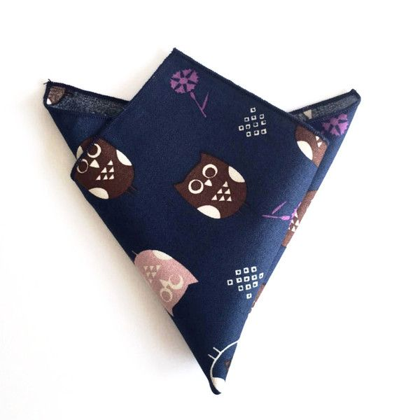 The Owl Pocket Square — AED 85