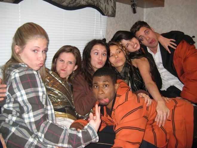 On the set and behind the scenes with the Another Cinderella Story cast.