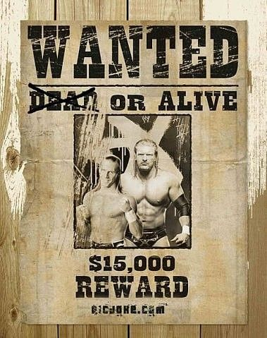 84 best Triple HHH images on Pinterest Wwe wrestlers, Lucha - free wanted poster template download