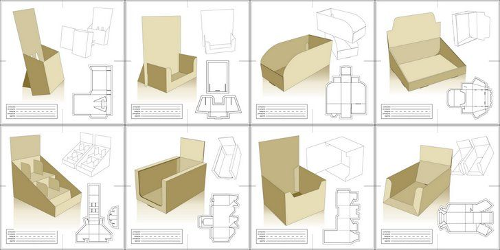 Free Packaging Templates - Vector