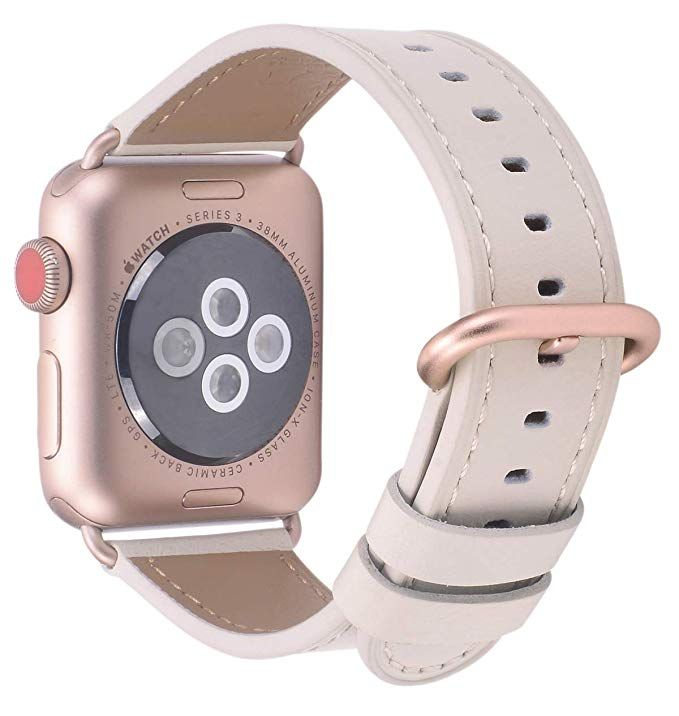 e4fd5439e62aa Amazon.com  JSGJMY Compatible for Iwatch Band 38mm 40mm S M Women Genuine