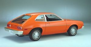 The Ford Pinto became famous for bursting into flames in case of an accident