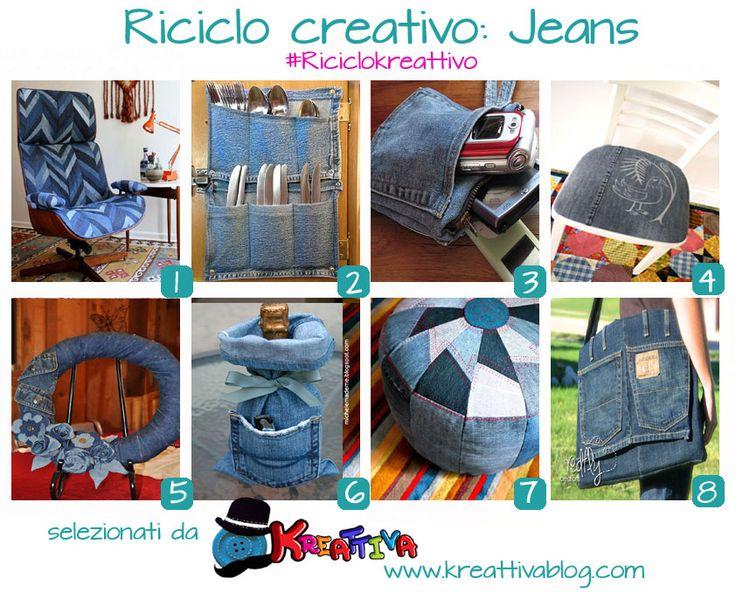 progetti creativi fai da te con jeans Old Jeans ...